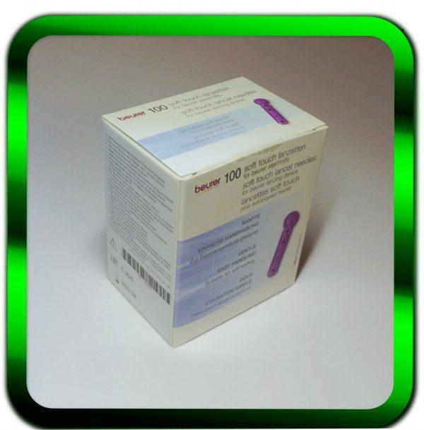 Beurer Lanzetten 100 Stück | Soft Touch 0,20 mm | Lanzetten | PZN:12734635 1 St 0,11 Cent