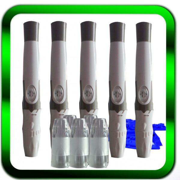 Stechhilfe für Blutzuckertest