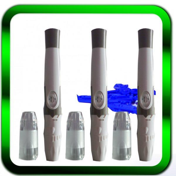 Klicken, um das Bild zu vergrößern und weitere Ansichten zu sehen GlucoCheck-Stechhilfe-Kappe-3-x-incl-10-Lanzetten-1St-5-66-Stechhilfe GlucoCheck-Stechhilfe-Kappe-3-x-incl-10-Lanzetten-1St-5-66-Stechhilfe GlucoCheck-Stechhilfe-Kappe-3-x-incl-10-Lanzetten-1St-5-66-Stechhilfe Ähnlichen Artikel verkaufen? Selbst verkaufen Details zu GlucoCheck Stechhilfe | Kappe | 3 x incl.10 Lanzetten