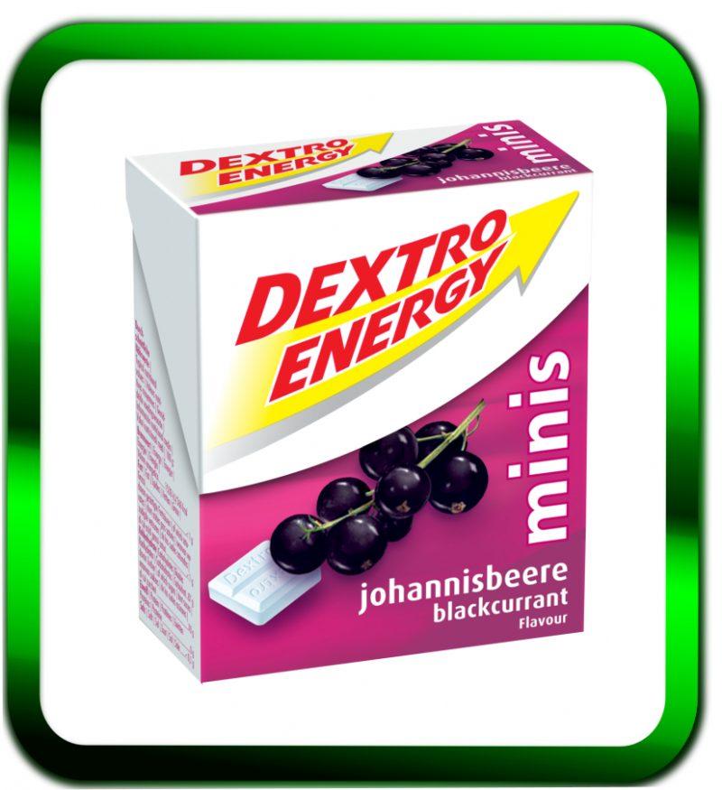 Dextrose mit fruchtigem Johannisbeer Geschmack.
